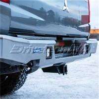 DT-2D40031 Drivetech 4x4 Rear Bumper by Rival (Mitsubishi Triton MQ)